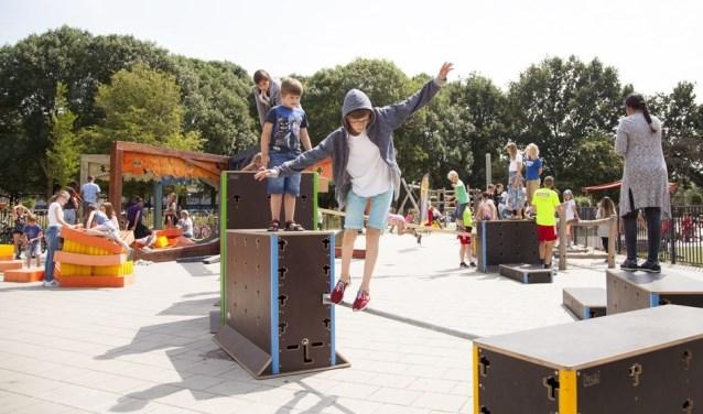 Op Openbare Basisschool Utrecht Overvecht is voldoende tijd voor beweging. Foto: PR