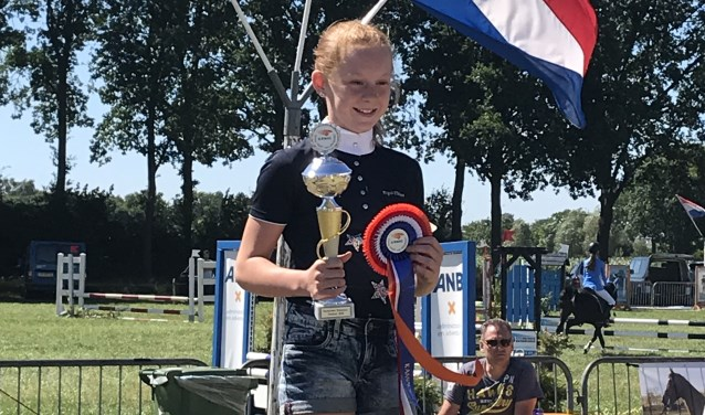 Quinty heeft zich geplaatst voor de Brabantse kampioenschappen.