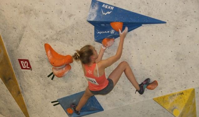 Sam Swalue klimt al jaren als de beste.