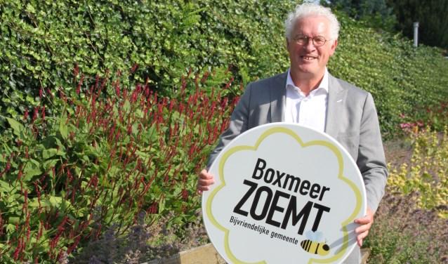 Wethouder Jeu Verstraaten wil dat 'Boxmeer zoemt'.