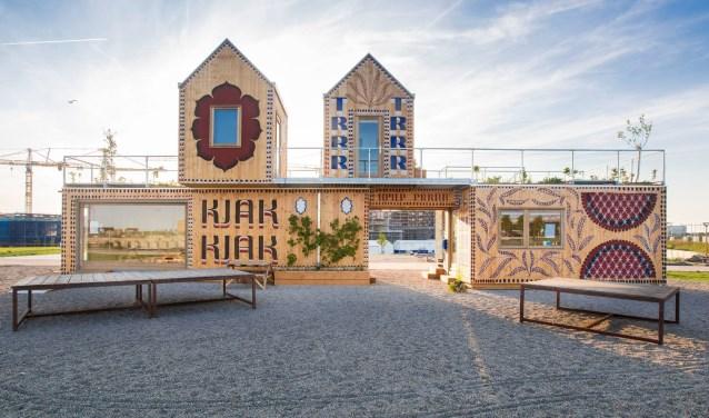 RAUM is een openbaar expositieplein op het Berlijnplein in Leidsche Rijn.
