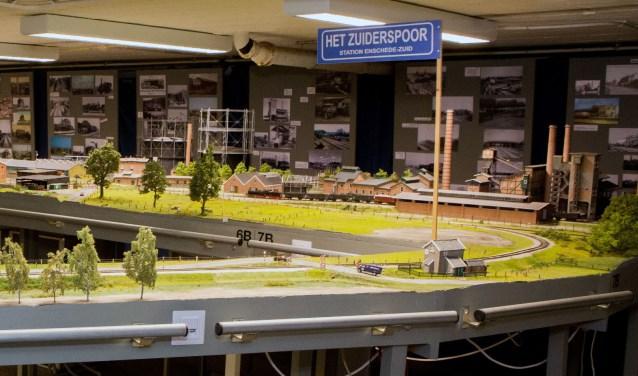 Modelbaan Het Zuiderspoor gaat verhuizen naar MBS in Boekelo.