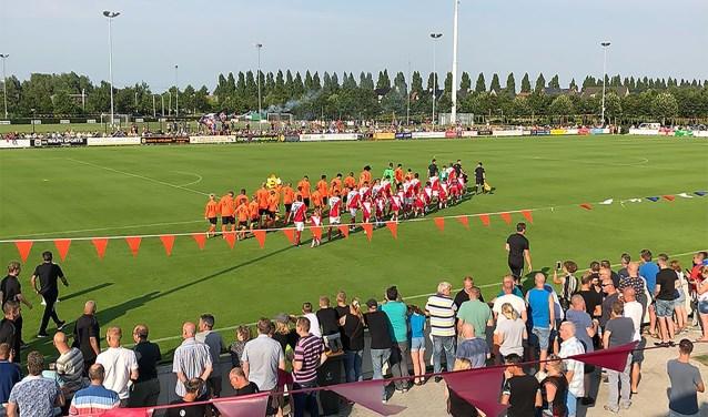In de tien keer dat DESTO tegen FC Utrecht speelde wisten ze nog nooit te scoren. Deze keer was het wel bijna raak.