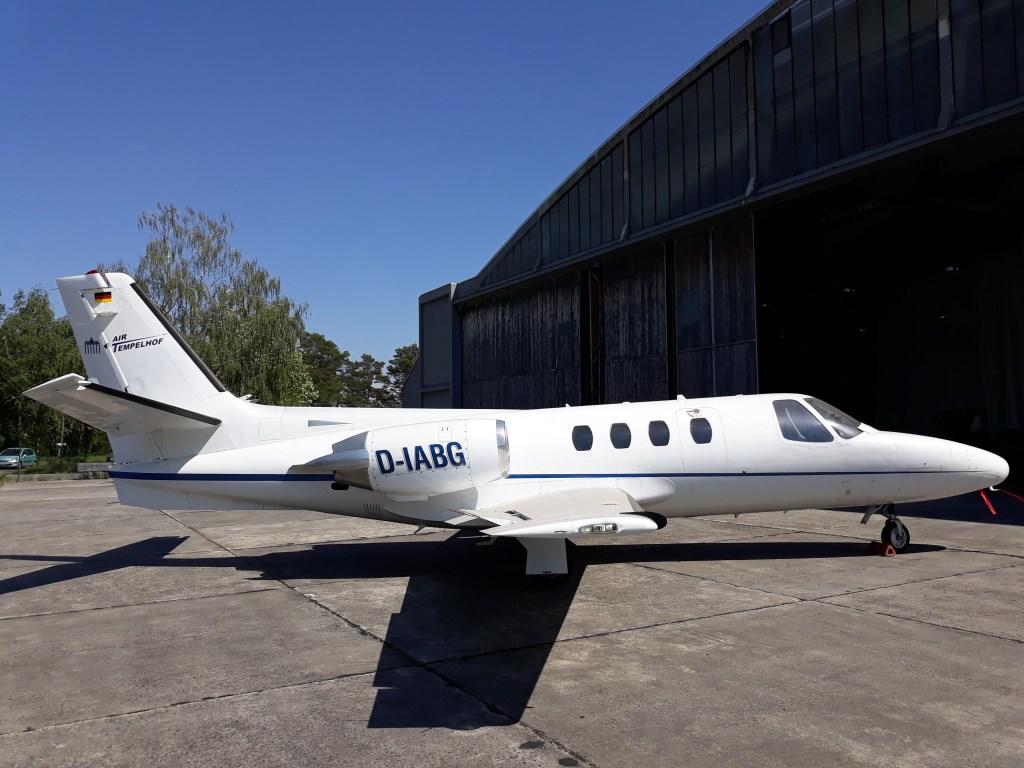 Er is 175.000 eurobetaald voor Cessna 7-persoons zakenjet.