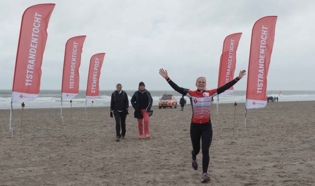Lopen over elf stranden en zo geld ophalen voor de Hartstichting, dat kan op zaterdag 6 oktober. (Foto:  Serge Meeuws)