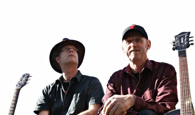 Het duo viert in Time Out het 56-jarig bestaan van The Rolling Stones. Foto: Aad Meijer.