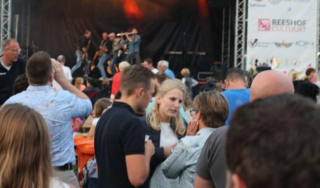 De Reeshof Muzenconcerten in 2017. De concerten wisten toen 12.000 toeschouwers te trekken. Foto: Yne Sweep