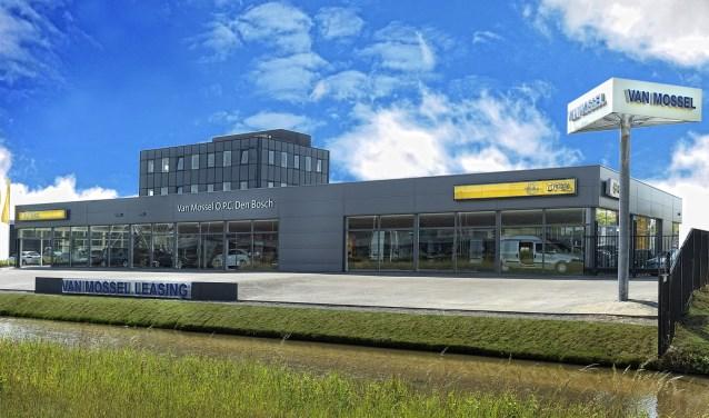 Van Mossel OPC Opel Den Bosch is gevestigd aan de Afrikalaan 2 en Van Mossel OPC Opel Veghel aan de Vanderlandelaan 1.