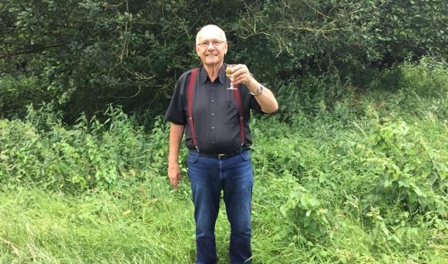 George Gussenhoven. 'Onze achtertuin grenst aan een groengebied, geweldig!' (foto: DFP)