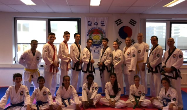 Deelnemers Sportschool Ho Sin Sul WK Tang Soo Do London