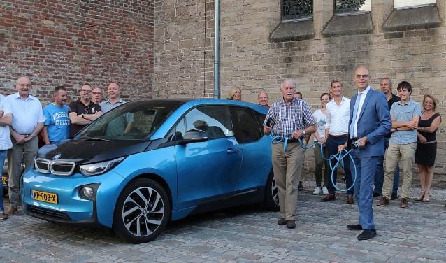 De gemeente wil het gebruik van elektrische auto's in de gemeente faciliteren. FOTO: Hanny van Eerden