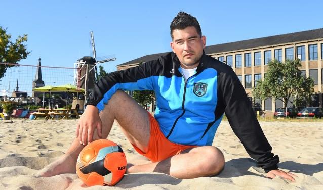 Michaël Bartelds, trainer-coach van BSC Dutch Scorpions. (foto: Roel Kleinpenning)