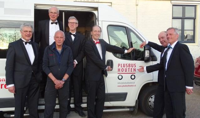 Rotary Club Houten ondersteunt Stichting PlusBus (en ook andersom).
