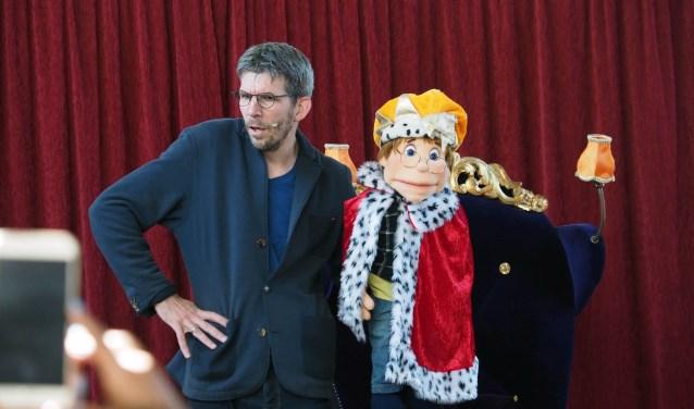 Theatermaker Timo van den Heuvel.