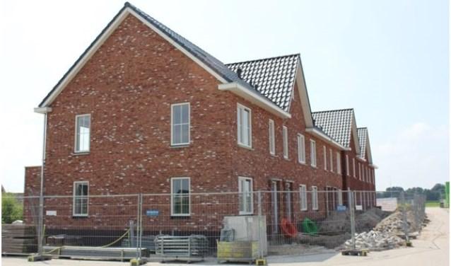 De eerste van de acht CPO-woningen die opgeleverd worden. (Foto: PR)
