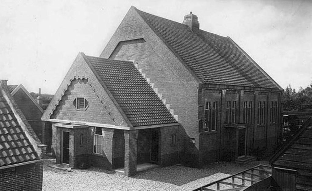 Exterieur Gereformeerde Gemeente Benthuizen. Foto: J.P. Sinke.  Foto: foto J.P. Sinke © Persgroep