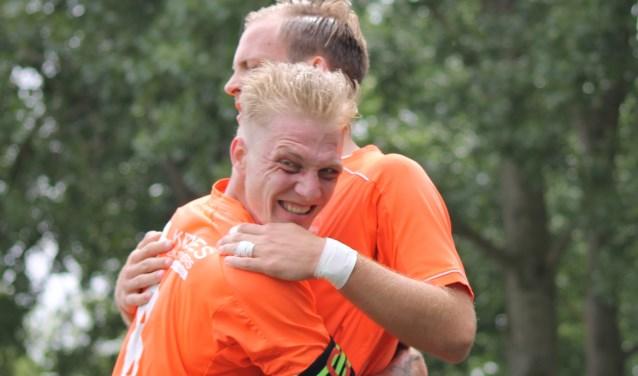 Sterkhouders Kelvin Hoogendoorn en Vincet Hoogervorst blijven Alphia trouw.