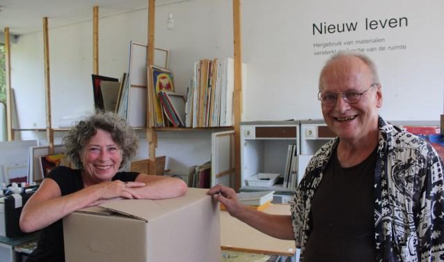 Liesbeht Reeser en Stefan Jung hebben gemengde gevoelens bij de verhuizing van Carte Blanche. FOTO: Rob Weekers.
