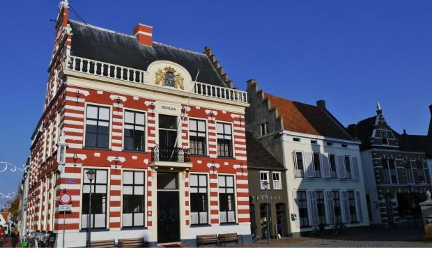 Het stadhuis van de gemeente Hattem.