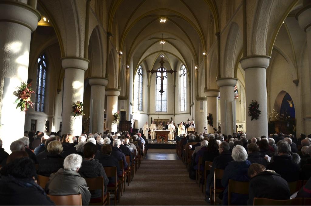 Regionale parochiele viering in het Eucharistisch Centrum Andreaskerk te Zevenaar.