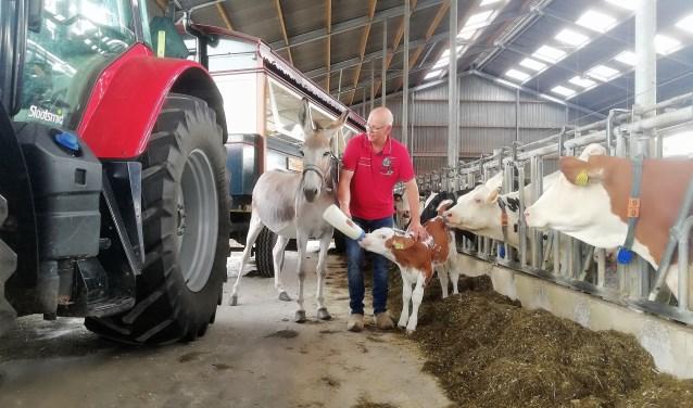 Willy Erinkveld van de Melktap in Geesteren heet iedereen welkom op zijn bijzondere bedrijf.
