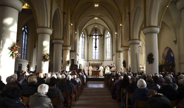 Regionale parochiele viering in het Eucharistisch Centrum Andreaskerk te Zevenaar
