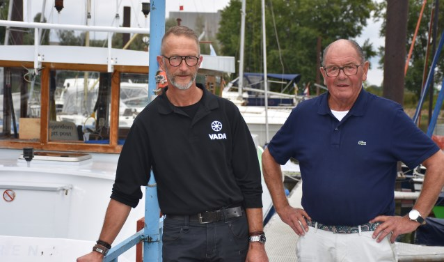 Peter Lelyveld en Chris van de Weerd. (Foto: Jan Elsenaar)