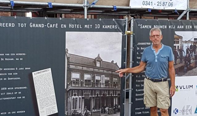 Zomerrreces of niet, voor het CDA gaat het politieke werk door en vraagt Koos Meijer aandacht voor De Roskam. Foto CDA.