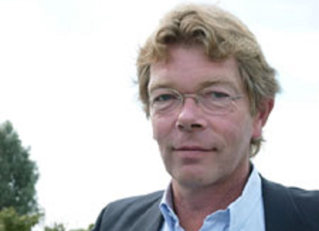 Maarten Vellinga op jongere leeftijd: altijd positief, altijd onderweg.