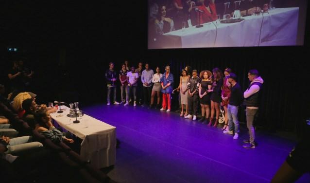 De finalisten van 'Dounia Zoekt Talent'. (Foto's: Jean Paul)