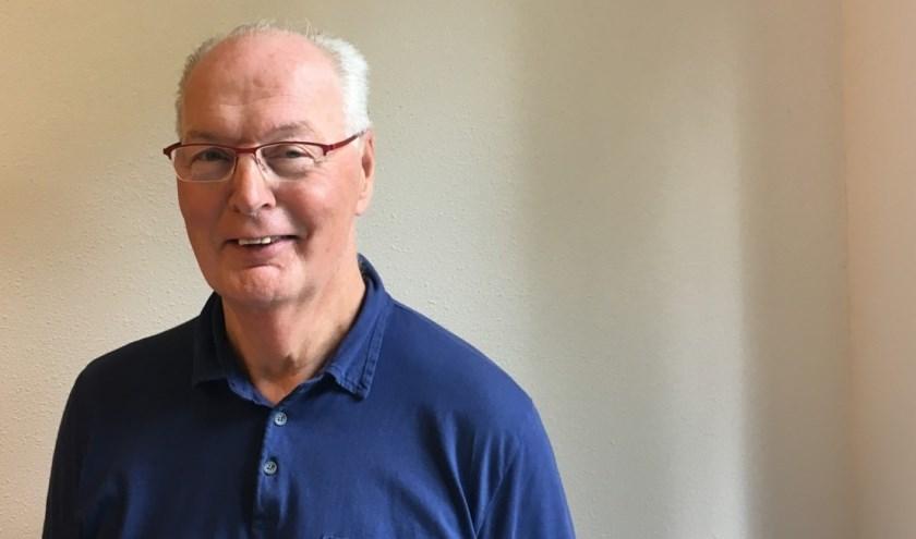 Henk Spitsbaard sloot zich na zijn pensioen aan bij de Sesamacademie. FOTO: Maartje Simons
