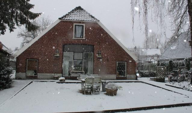 De bouw van de boerderij was in 1908 voltooid.