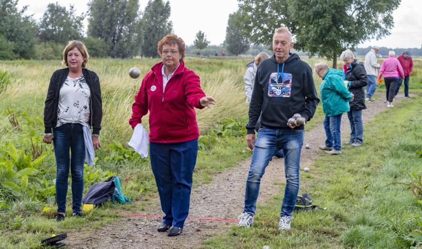 Op 'pad' tijdens de 2018-editie van het Boezemtoernooi. (Foto: Wijntjesfotografie.nl)