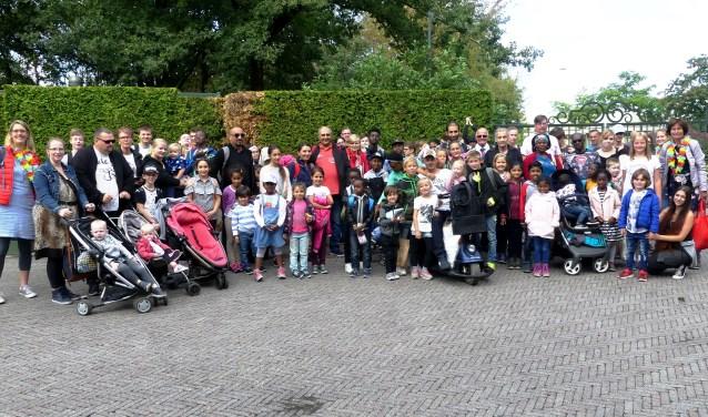 Vrijdag maakten 150 kinderen en ouders hun 'Droomreis' naar de Efteling.
