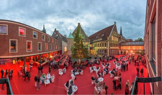 Münster staat binnenkort drie dagen in het teken van Schauraum met de Roter Platz las middelpunt. Foto: Thomas M. Weber/WebRock-Foto