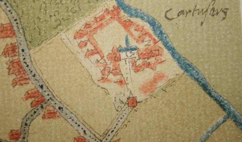 De exacte locatie van het klooster is (nog) niet bekend. Wel bestaat er een plattegrond die aangeeft hoe het complex eruitzag.