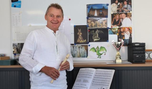 """Jo van Gemert, een van initiatiefnemers voor muziekles op de basisschool. """"We willen zo min mogelijk drempels."""""""