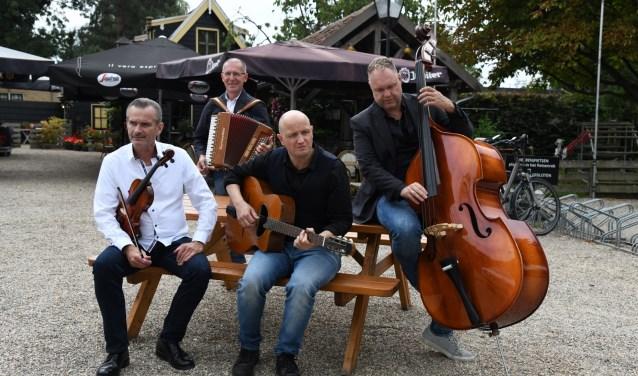 Nathan Hol, Simon Dekker, Martin Boskamp en Marcel Perik. (Foto: pr)