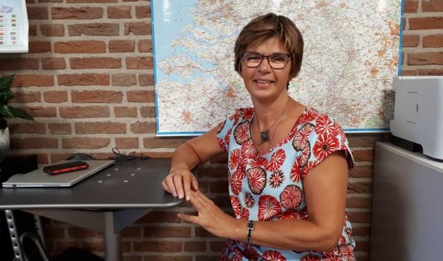 Coördinator Janneke Stoevelaar van De Inloop Driebergen. FOTO: Maarten Bos
