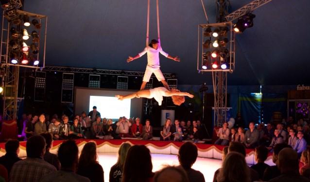 Voorstelling van Circus Bongo. Foto: Circus Bongo