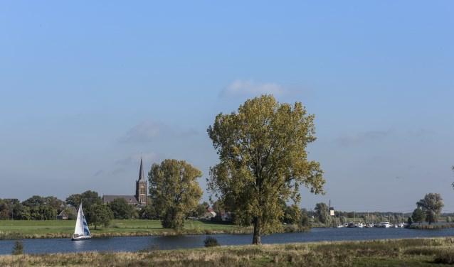 Het project Meanderende Maas richt zich op de dijken tussen Ravenstein en Lith.