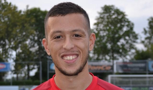 Abdelilah El Malki. De laatste aanwinst van JVC hoopt komende zaterdag in Oldenzaal bij Quick'20 de competitiestart wellicht al mee te maken.
