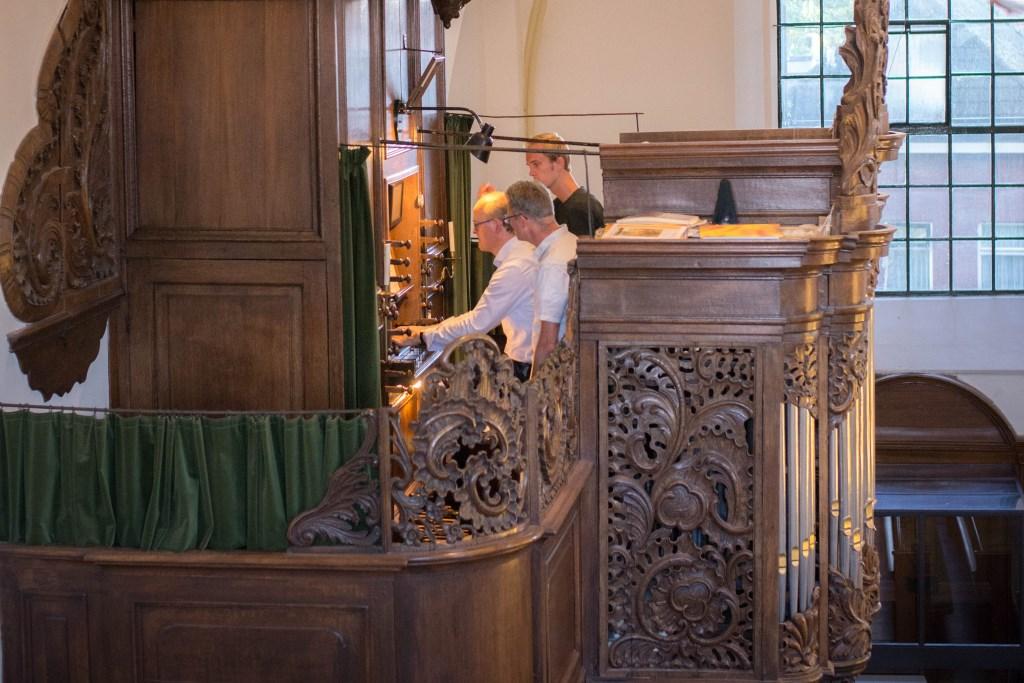 De organist en zijn registranten