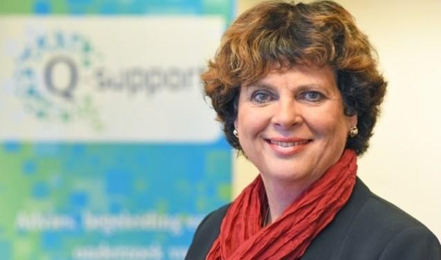 """Annemieke de Groot, directeur Q-support 2.0: """"We streven naar een netwerk van uiteenlopende professionals met kennis van de ziekte."""" FOTO: Maasland Communicatie."""