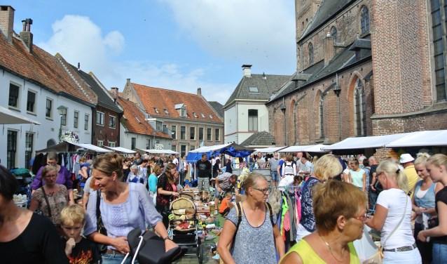 De binnenstad van Hattem kan weer rekenen op een invasie van tienduizenden bezoekers.