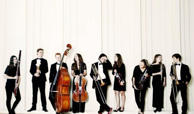 Enkele musici van het 80 leden tellende JeugdOrkest Nederland. (Foto: Sarah Wijzenbeek)