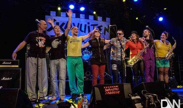 Met SKAvuiten uit Dordrecht is 't altijd feest.  FOTO: DW IMAGES.NL