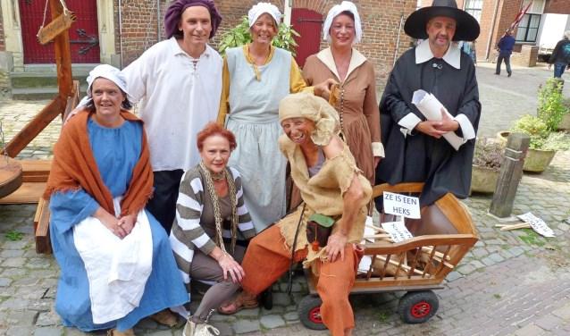 Net als in 2017 is ook dit jaar een bont gezelschap te bewonderen tijdens het Mechteld ten Ham Festival.