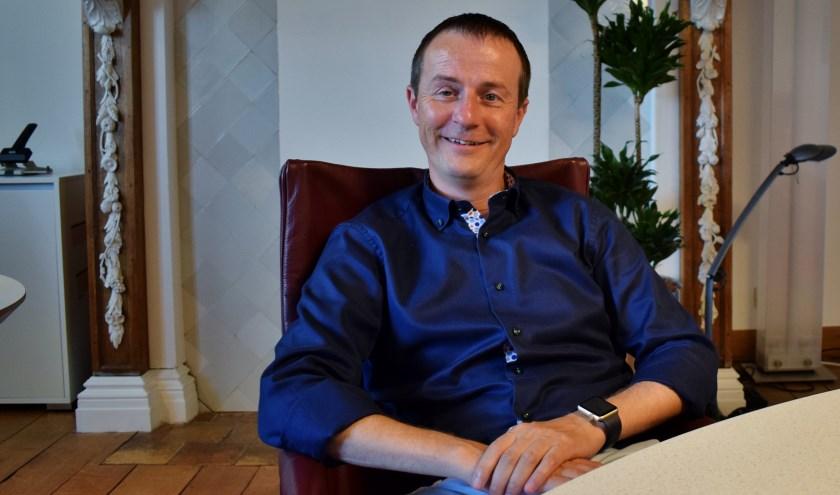 Hellevoetse wethouder Peter Schop zit vol energie en heeft er erg veel zin in