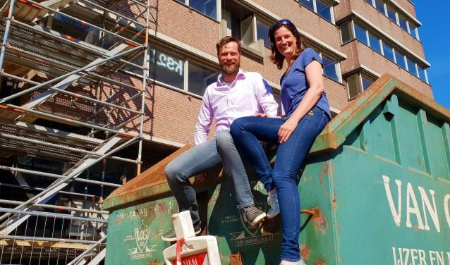 Sjoerd en Marion bouwen hun eigen duurzame woning in project Metamorfose in het Havenkwartier in Rijswijk.